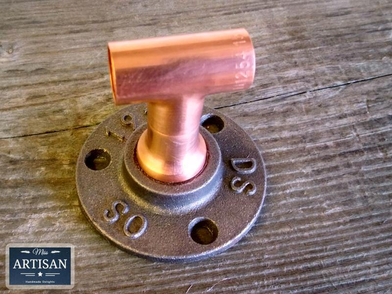 15m Copper Pipe Tee Flange - Miss Artisan