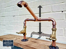 Load image into Gallery viewer, Copper Pipe Swivel Mixer Taps