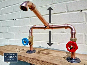 Copper Pipe Mixer Swivel Faucet Taps - Miss Artisan