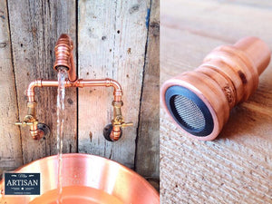 22mm Copper Aerators - Fits All Our Copper Pipe Taps - Miss Artisan