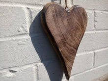 Load image into Gallery viewer, Miss Artisan - Large Solid Wood Love Heart - Rustic / Industrial / Vintage Handmade Furniture