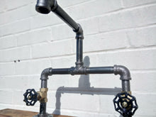 Load image into Gallery viewer, Miss Artisan - Cast Iron And Steel Mixer Faucet Taps - Rustic / Industrial / Vintage Handmade Furniture