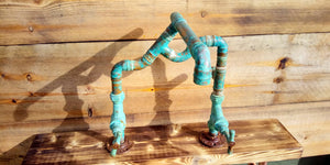 Miss Artisan - One Off - Copper Pipe Mixer Tap - Rustic / Industrial / Vintage Handmade Furniture