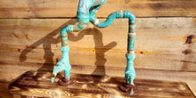 Load image into Gallery viewer, Miss Artisan - One Off - Copper Pipe Mixer Tap - Rustic / Industrial / Vintage Handmade Furniture