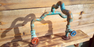 One Off - Copper Pipe Mixer Faucet Tap - Miss Artisan