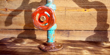 Load image into Gallery viewer, Miss Artisan - One Off - Copper Pipe Mixer Faucet Tap - Rustic / Industrial / Vintage Handmade Furniture