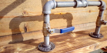 Load image into Gallery viewer, Galvanized Pipe Mixer Faucet Taps - Lever Handles - Miss Artisan