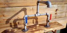 Load image into Gallery viewer, Galvanized Pipe Mixer Faucet Taps - Lever Handle - Miss Artisan