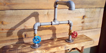 Load image into Gallery viewer, Galvanized Pipe Mixer Faucet Taps - Round Handle - Miss Artisan