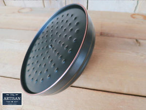 8 Inch Black Shower Head - Miss Artisan