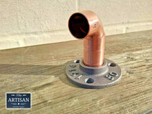 Load image into Gallery viewer, 22mm Copper Pipe Elbow Flange