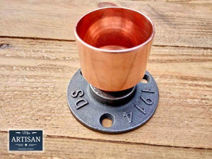 35mm Copper Pipe Flange - Miss Artisan