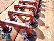 Load image into Gallery viewer, Copper Pipe Handles - Miss Artisan