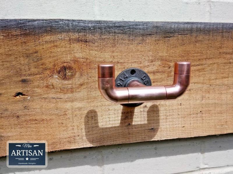 Double Copper Pipe Hook