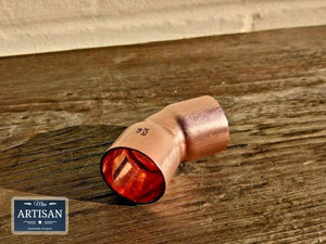 Miss Artisan - Copper 45 Degree Bends 15mm / 22mm / 28mm - Rustic / Industrial / Vintage Handmade Furniture
