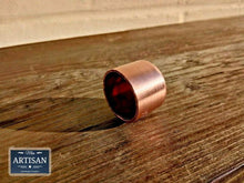 Load image into Gallery viewer, Miss Artisan - Copper Cap Ends 15mm / 22mm / 28mm - Rustic / Industrial / Vintage Handmade Furniture