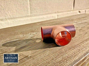 Copper Tees 15mm / 22mm / 28mm - Miss Artisan