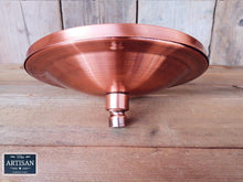 Load image into Gallery viewer, 8 Inch Copper Shower Head - Miss Artisan