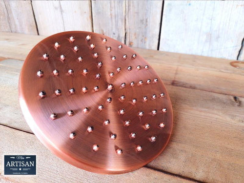 8 Inch Copper Shower Head - Miss Artisan