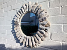 Load image into Gallery viewer, Miss Artisan - Large Round Driftwood Mirror - Rustic / Industrial / Vintage Handmade Furniture