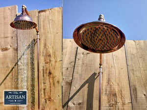 Single Handle Copper Hose Pipe Shower - Miss Artisan