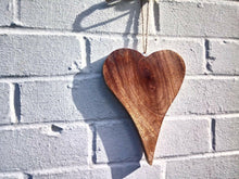 Load image into Gallery viewer, Miss Artisan - Large Solid Wood Heart - Rustic / Industrial / Vintage Handmade Furniture