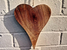 Load image into Gallery viewer, Large Solid Wood Heart - Miss Artisan