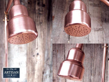 Load image into Gallery viewer, Miss Artisan - Single Handle Exposed Copper Pipe Shower - Rustic / Industrial / Vintage Handmade Furniture