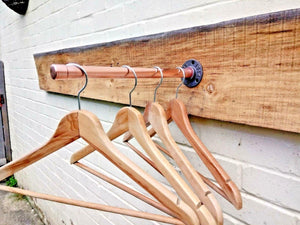 Copper Pipe Clothes Rail - Miss Artisan