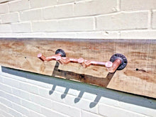 Load image into Gallery viewer, Miss Artisan - Copper Pipe Coat Hooks - Rustic / Industrial / Vintage Handmade Furniture
