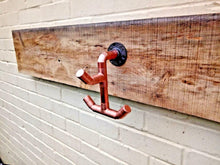 Load image into Gallery viewer, Miss Artisan - Copper Pipe Drop 3 Hook - Rustic / Industrial / Vintage Handmade Furniture