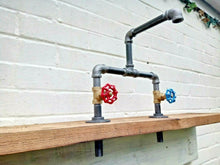 Load image into Gallery viewer, Miss Artisan - Cast Iron And Steel Mixer Taps - Rustic / Industrial / Vintage Handmade Furniture