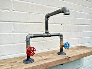 Miss Artisan - Cast Iron And Steel Mixer Taps - Rustic / Industrial / Vintage Handmade Furniture