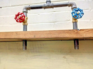 Miss Artisan - Cast Iron And Steel Mixer Faucet Taps - Rustic / Industrial / Vintage Handmade Furniture