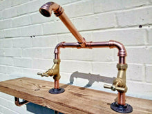 Load image into Gallery viewer, Copper Pipe Swivel Mixer Faucet Taps - Miss Artisan