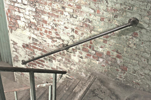 Miss Artisan - Cast Iron Stair Rails - Rustic / Industrial / Vintage Handmade Furniture