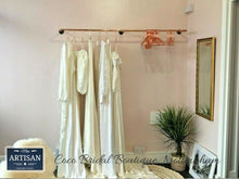 Load image into Gallery viewer, Copper Pipe Clothes Rail - Wall Mounted - Miss Artisan