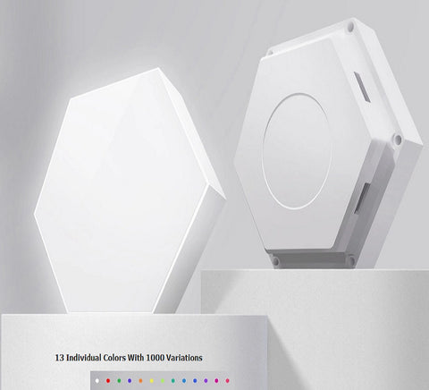 Hex touch Light Modular LED Wall Lamp