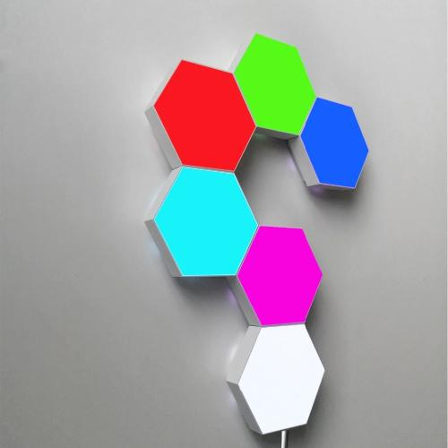 Hex Touch Lights RGB Color Wireless LED Color Display - Hex Touch Lights