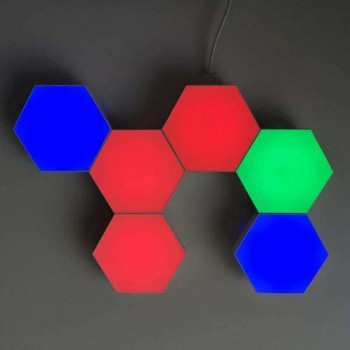 Hex Touch Lights RGB Color Wireless LED Red, Blue, Green - Hex Touch Lights