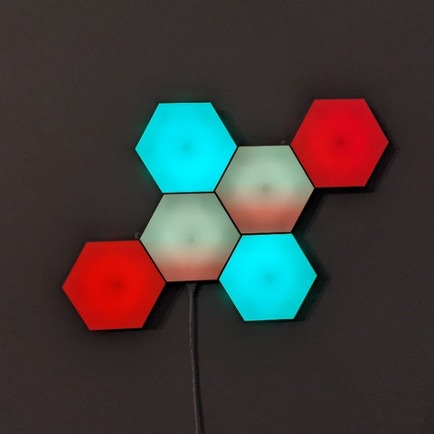 Smart hex Wireless plus touch LED tile