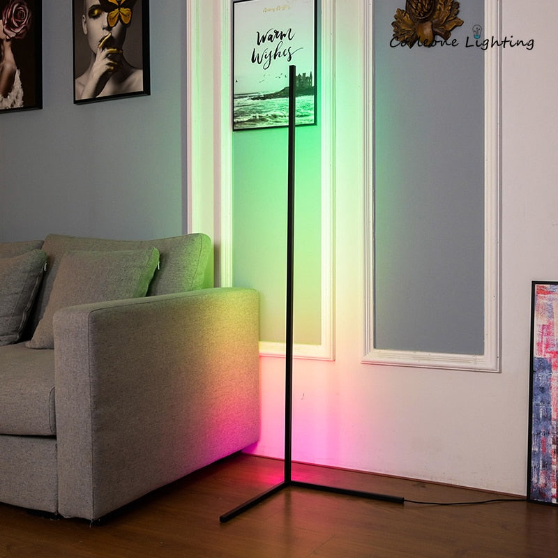 Smart Minimal RGB LED Corner Lamp