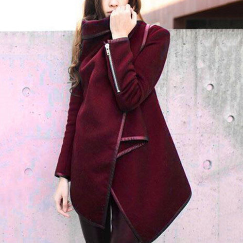 Elegant Fashion Slim Solid Color Long Sleeve Cardigan