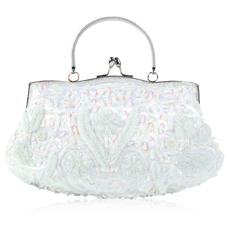 Women's Vintage Handmade Beaded Banquet Bag