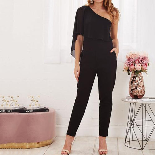 Sexy Backless Bodycon Jumpsuit