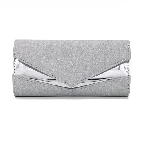 Women's Fashion Solid Color Simple Clutch