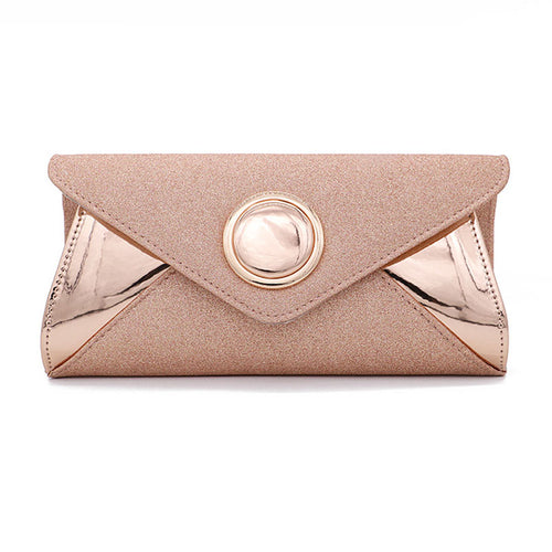 Women's Button-type Fashion Evening Bag