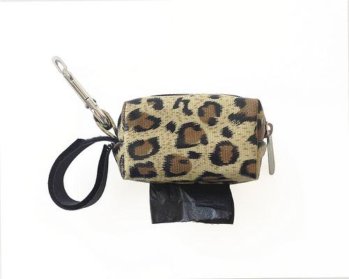 Designer Duffel Poo Bag Dispenser - Cheetah - Poo Bags - Xtra Dog