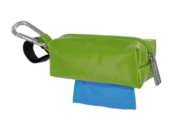 DogBag Colour Block Duffel (Large) Poo Bag Dispenser - Green - Poo Bags - Xtra Dog