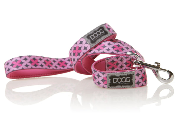 DOOG Toto Dog Lead Pink and Grey - Discontinued - Xtra Dog